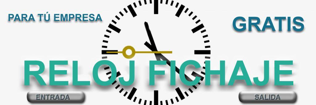 reloj fichaje gratis